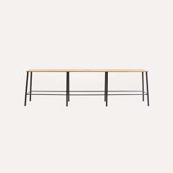 Adam bench L160 matt black | Bancos | Frama