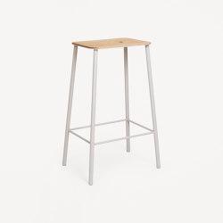 Adam stool H65 grey | Bar stools | Frama