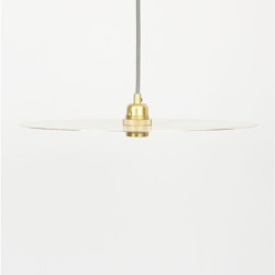 Circle Large Brass | Suspended lights | Frama