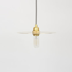 Circle Medium Brass incl. E27 pendant | Suspensions | Frama