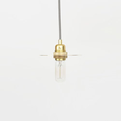 Circle Small Brass incl. E27 pendant | Suspended lights | Frama