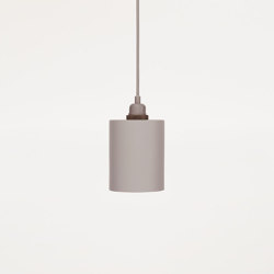 Cylinder Small Grey | Suspended lights | Frama