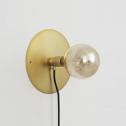 E27 Wall Brass medium | Wall lights | Frama