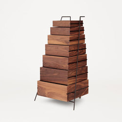 Sutoa walnut edition | Shelving | Frama