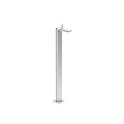 AXOR Mezclador monomando de lavabo de pie con vaciador Push-Open | Grifería para lavabos | AXOR