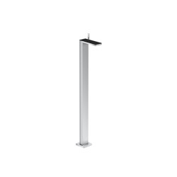 AXOR Single lever basin mixer floor-standing with push-open waste set | Wash basin taps | AXOR