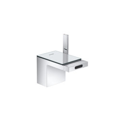 AXOR Single lever bidet mixer with push-open waste set | Bidet taps | AXOR
