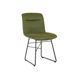 Cara without armrest and steel wire frame | Sedie | Bielefelder Werkstaetten