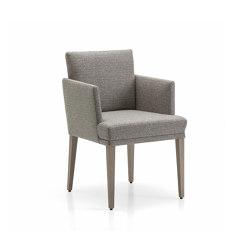 Polo Dining Chair with armrest | Chairs | Bielefelder Werkstaetten