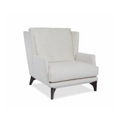 Polo Lounge Easy Chair with armrest | Armchairs | Bielefelder Werkstaetten