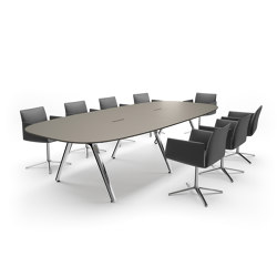 Convo conference table | Tavoli contract | RENZ
