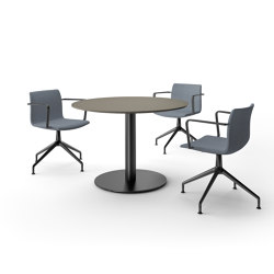 Upsite meeting table round | Objekttische | RENZ