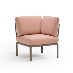 Komodo elemento angolo | Modular seating elements | NARDI S.p.A.