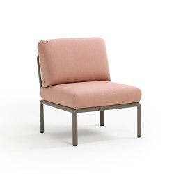 Komodo elemento centrale | Modular seating elements | NARDI S.p.A.