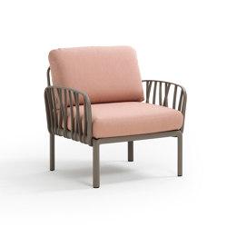 Komodo poltrona | Modular seating elements | NARDI S.p.A.