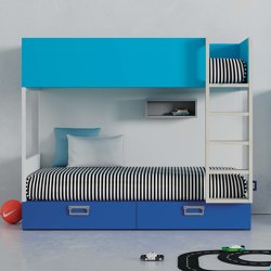 Bunk Bed ALFA 16 | Kids beds | JJP Muebles