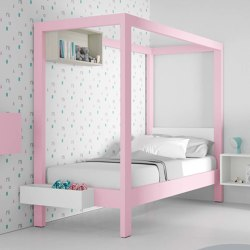 Canopy bed 10 | Kids beds | JJP Muebles