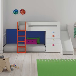 Train bunk bed 13 | Kids beds | JJP Muebles