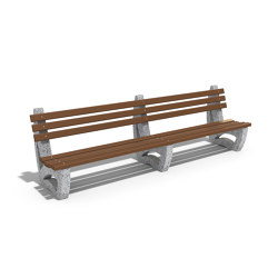 Double Length Bench 63 | Sitzbänke | ETE