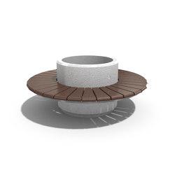 Round Planter Bench 194 | Sitzbänke | ETE
