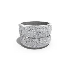 Round Concrete Planter 17 | Plant pots | ETE