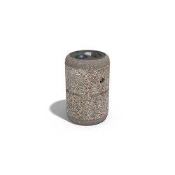 Concrete Litter Bin 71 | Waste baskets | ETE
