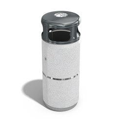 Concrete Litter Bin 41   Abfallbehälter / Papierkörbe   ETE