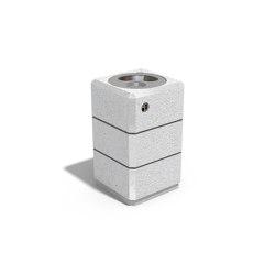 Concrete Litter Bin 72 | Abfallbehälter / Papierkörbe | ETE