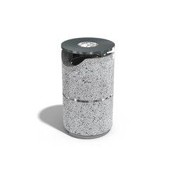 Concrete Litter Bin 127 | Cubos basura / Papeleras | ETE