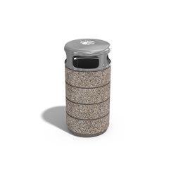 Concrete Litter Bin 128 | Waste baskets | ETE