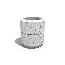 Round Concrete Planter 20 | Pflanzgefäße | ETE