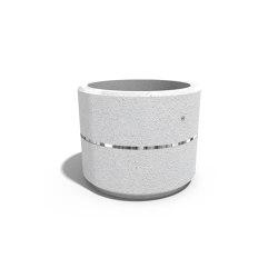 Round Concrete Planter 22 | Pflanzgefäße | ETE