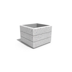 Square Concrete Planter 74 | Pflanzgefäße | ETE
