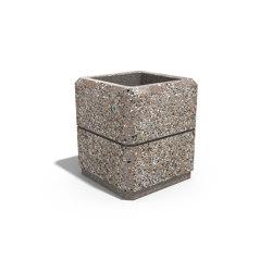 Square Concrete Planter 77 | Pflanzgefäße | ETE