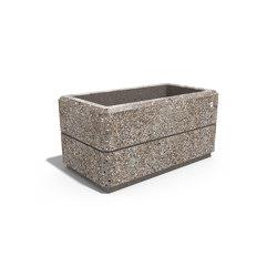 Square Concrete Planter 79   Plant pots   ETE