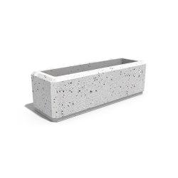 Square Concrete Planter 80 | Plant pots | ETE