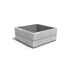 Square Concrete Planter 96 | Pflanzgefäße | ETE
