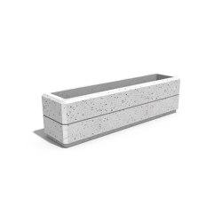 Rectangular Concrete Planter 141 | Pflanzgefäße | ETE