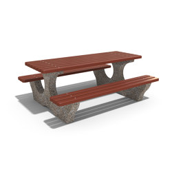 Concrete Picnic Table 108 | Tables and benches | ETE