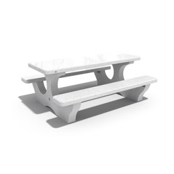 Concrete Picnic Table 118 | Tables and benches | ETE