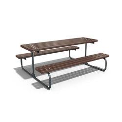Metal Picnic Table 113 | Mesas y bancos | ETE