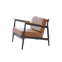 Model 107 - blackstained wood | Armchairs | Magnus Olesen