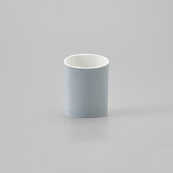Naname Vase C - Cadet Grey | Vases | HANDS ON DESIGN
