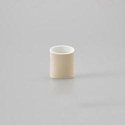 Naname Vase D - Ocra | Vases | HANDS ON DESIGN