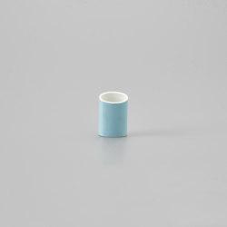 Naname Vase E - Light blue | Vases | HANDS ON DESIGN