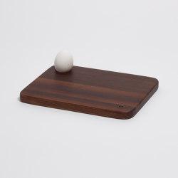 Ei-Pad Breakfast Board (Walnut) | Chopping boards | Anton Doll