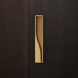 Ballet Sliding door handle | Flush pull handles | Vervloet