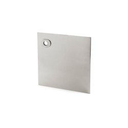 Stardust Smooth square Plate | Handle backplates | Vervloet