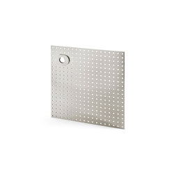 Stardust Perforated square Plate | Handle backplates | Vervloet