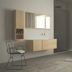 Hanging Cabinet 1 Left Door/2 Racks | Vanity units | Idi Studio